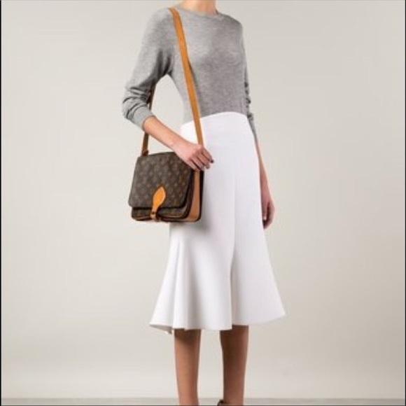 41aff656cb17 Louis Vuitton Handbags - Authentic Louis Vuitton Cartouchiere MM monogram